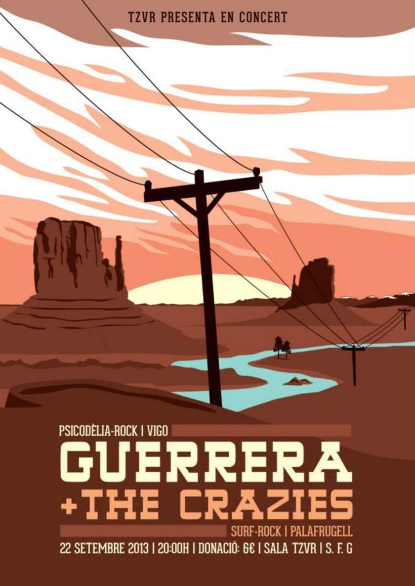Cartel GUERRERA -1
