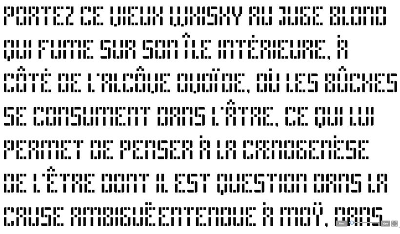 Block 02 (free font) 4