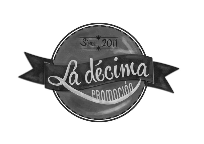 Logotipo La décima promoción (Publicidad y RR.PP.) 0