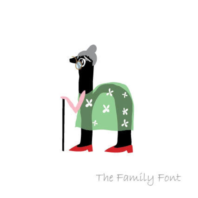 The Family Font 4