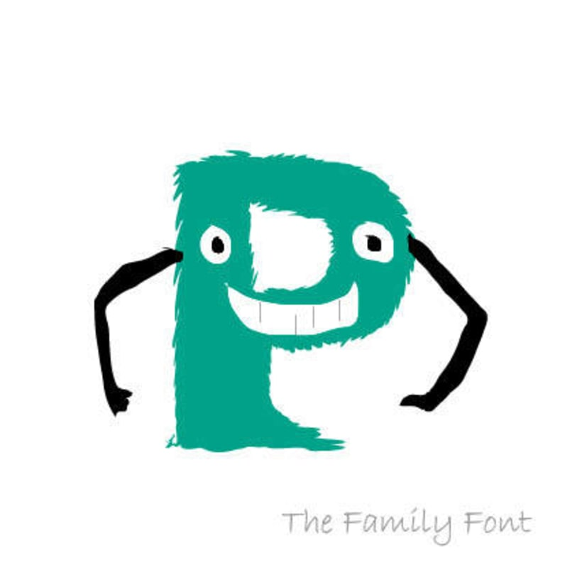 The Family Font 5