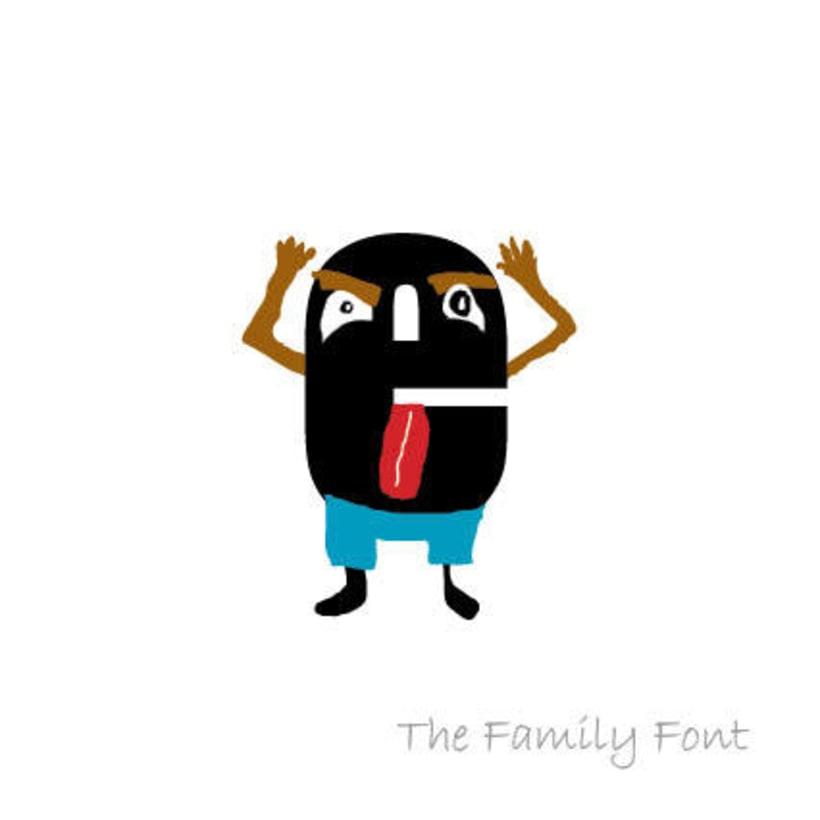 The Family Font 6