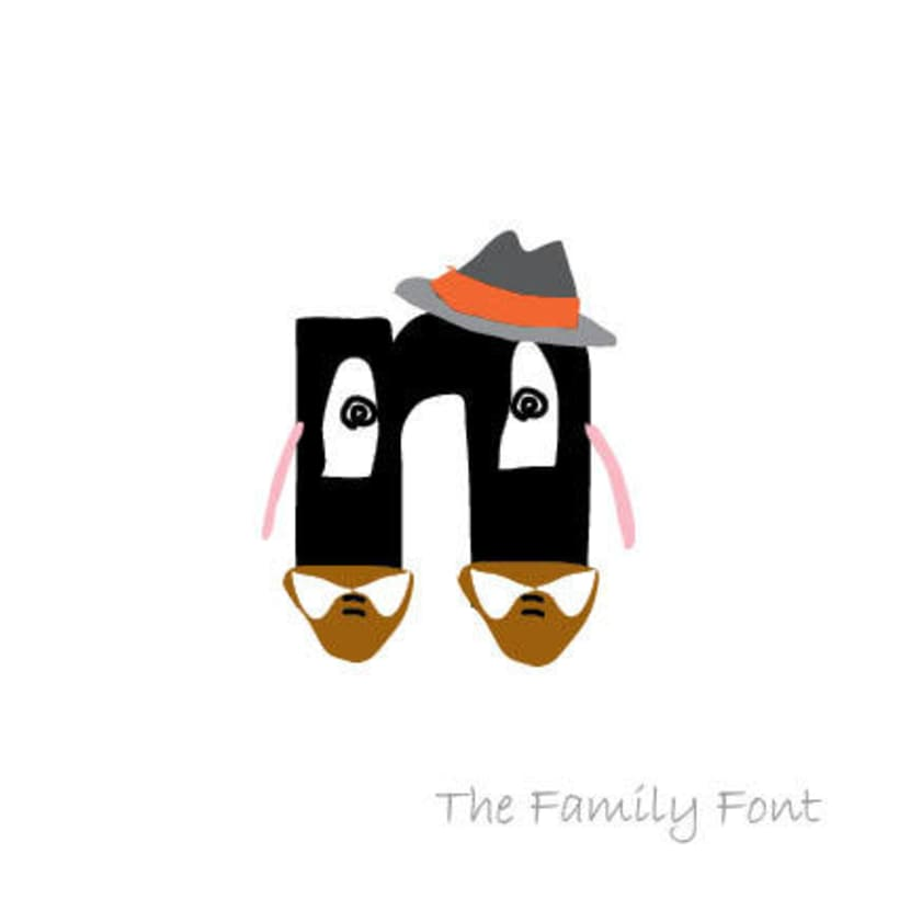 The Family Font 8