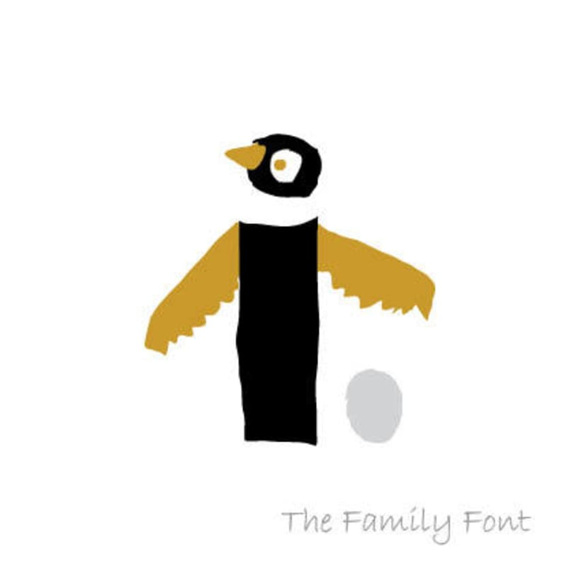 The Family Font 10