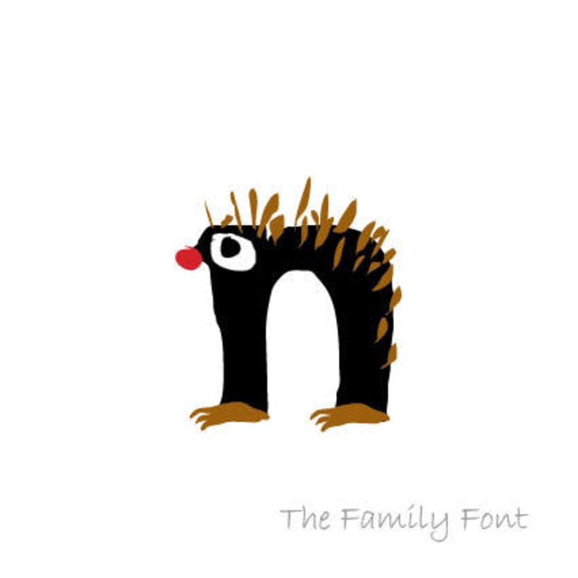 The Family Font 11