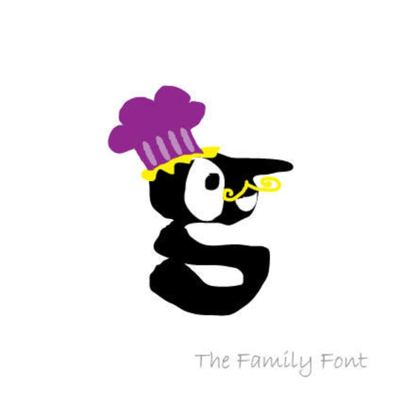 The Family Font 13