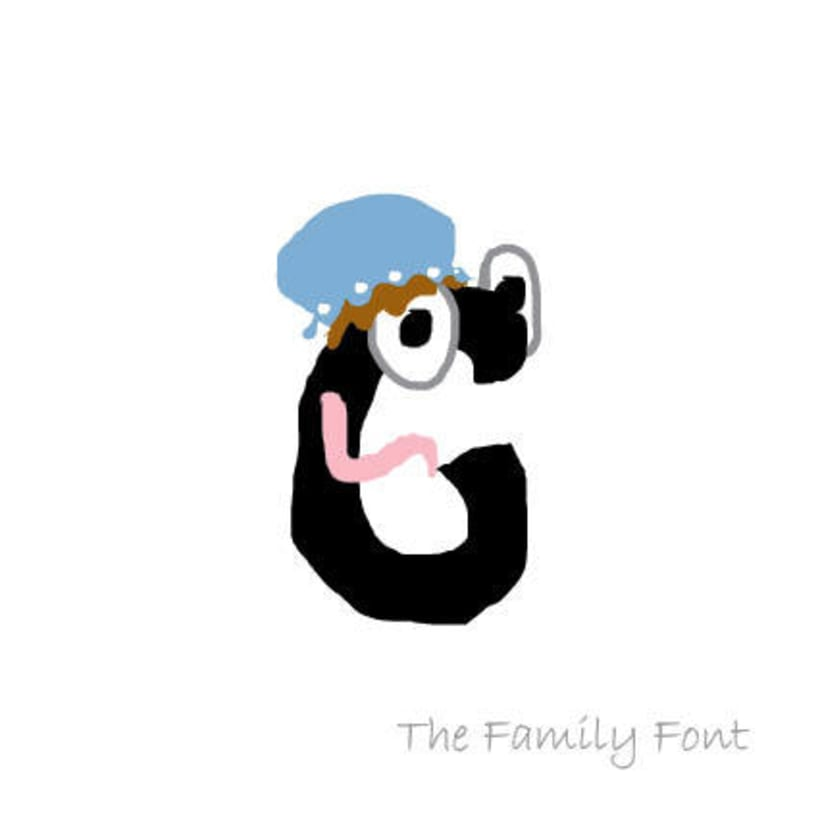 The Family Font 15