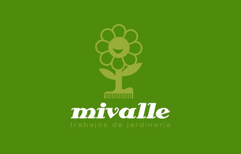 Logotipo MIVALLE - Jardinería 0