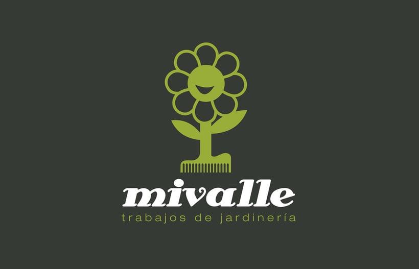 Logotipo MIVALLE - Jardinería 1