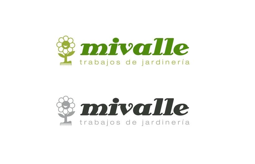 Logotipo MIVALLE - Jardinería 2