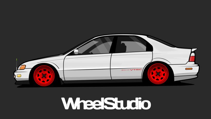 Ilustracion // Honda Accord 98  -1