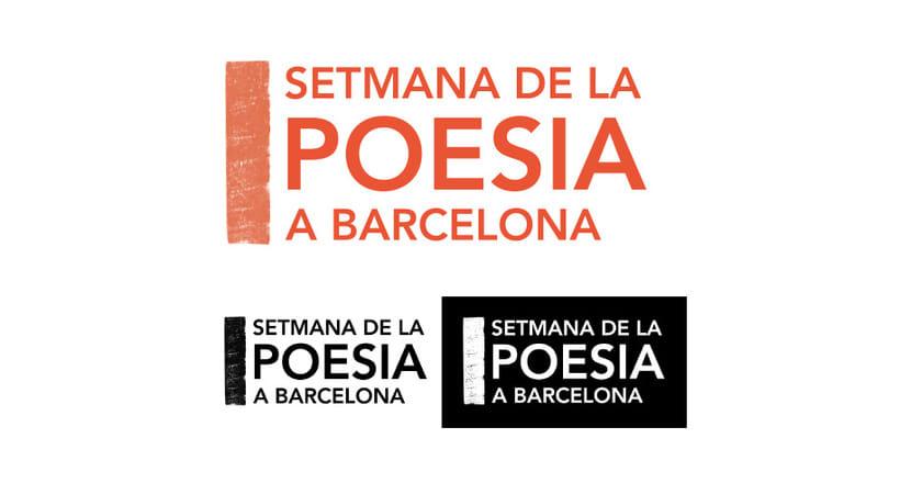 Identidad de la Semana de la Poesía de Barcelona 4