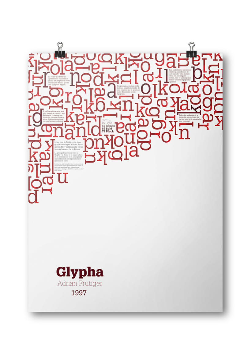 Espécimen Tipografico (Glypha) 2