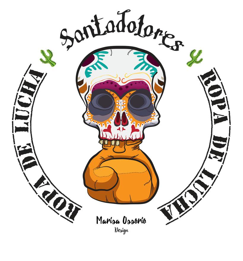 Santadolores: Ropa Deportiva de Boxeo -1