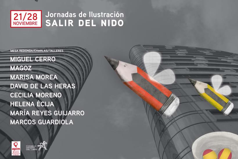 Cartel para las Jornadas de Ilustración de APIM ;) -1