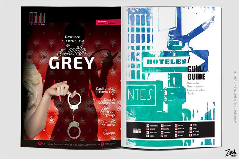 Publicidad: Suite Grey del Hotel Loob. 1