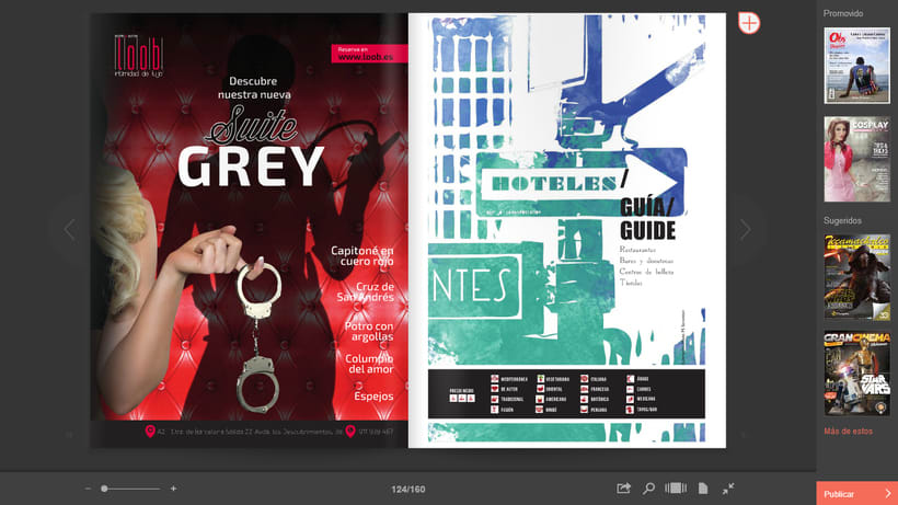 Publicidad: Suite Grey del Hotel Loob. 7