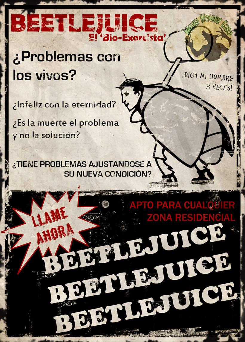 Beetlejuice Poster 0