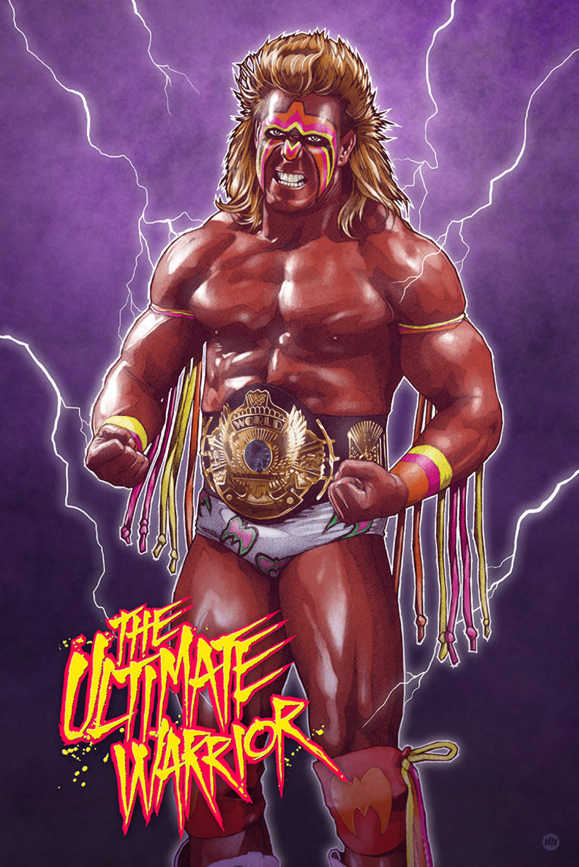 THE ULTIMATE WARRIOR 4