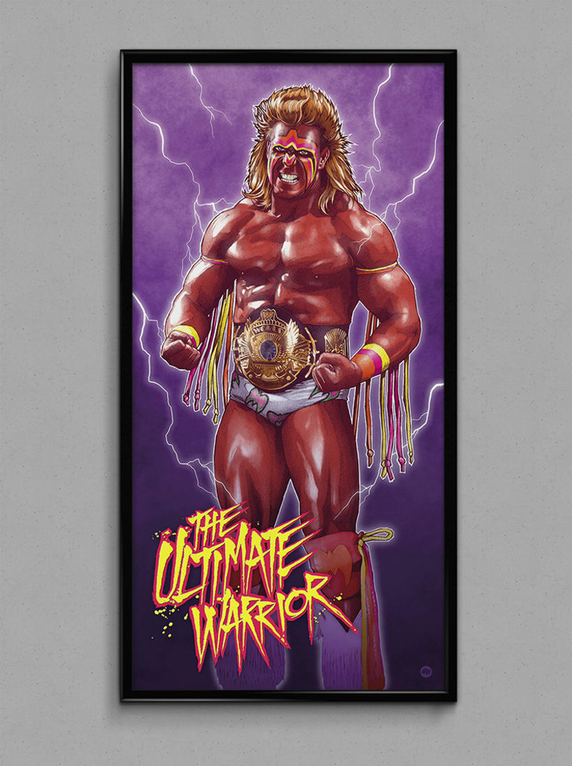 THE ULTIMATE WARRIOR 7