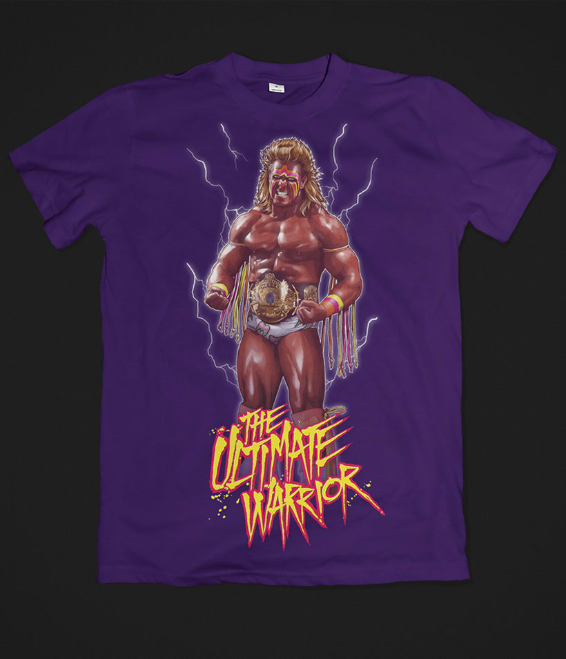 THE ULTIMATE WARRIOR 8