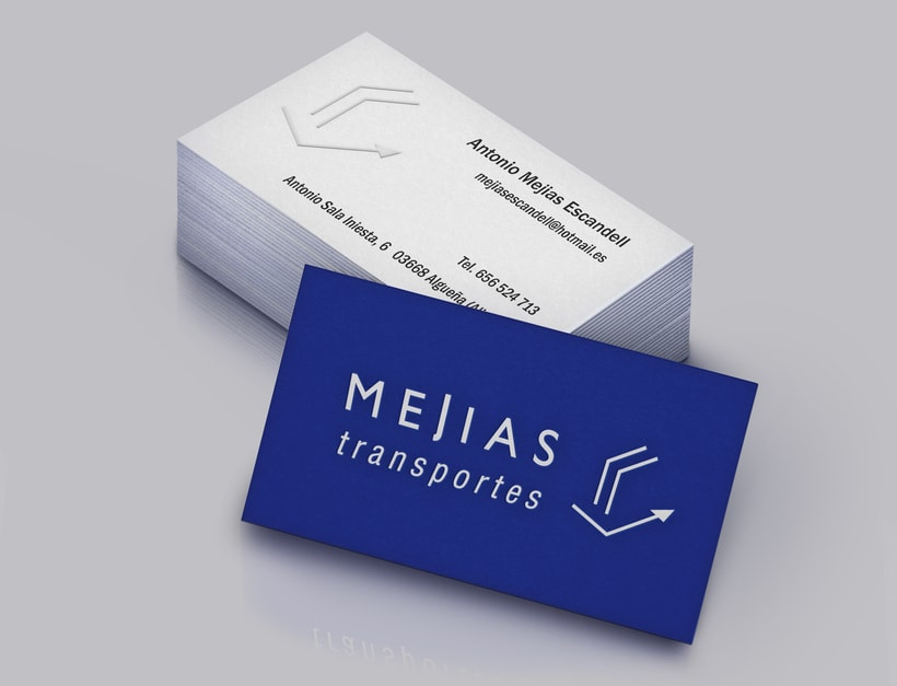 Branding & Corporate Design: Mejías Transportes 1