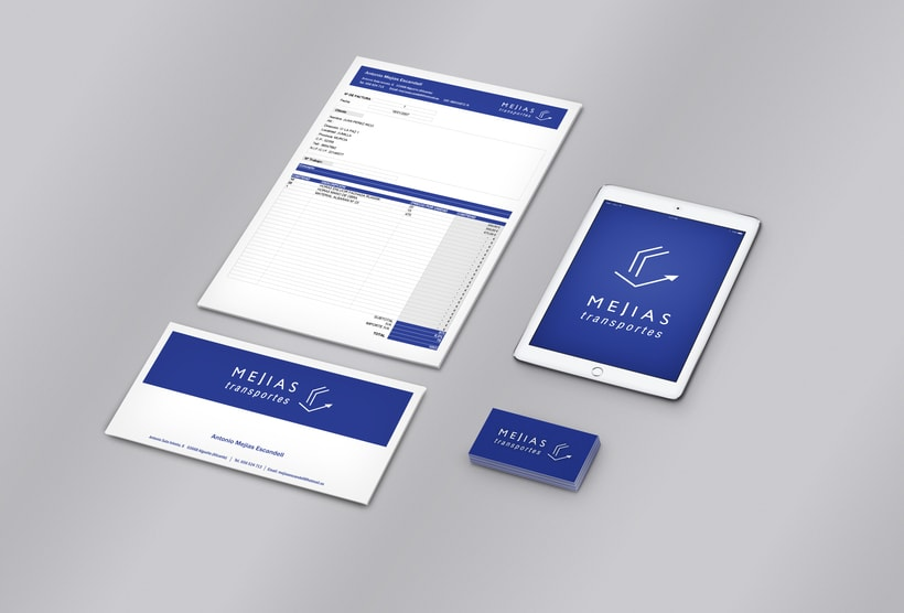 Branding & Corporate Design: Mejías Transportes 2