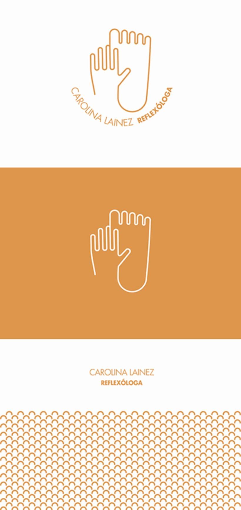 Carolina Lainez  REFLEXÓLOGA_Identity 0