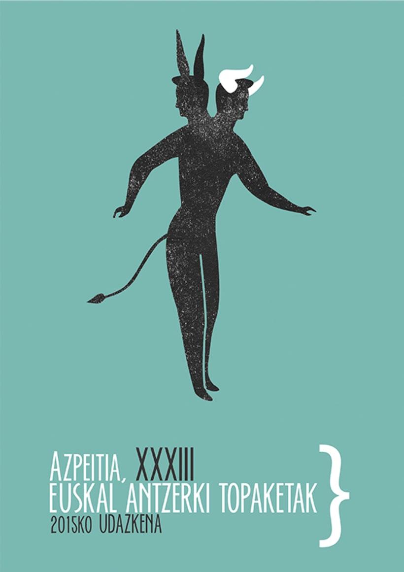 AZPEITIA, XXXIII Euskal Antzerki Topaketak_Cartel -1