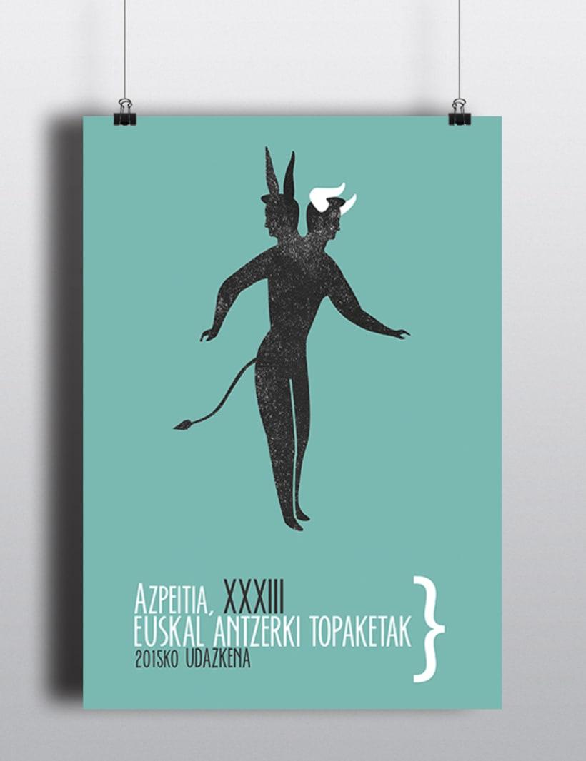 AZPEITIA, XXXIII Euskal Antzerki Topaketak_Cartel 0