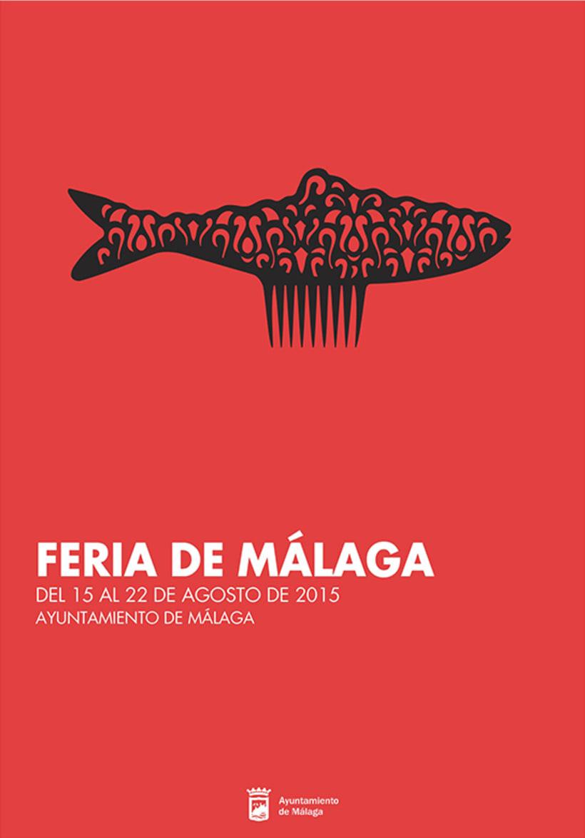 FERIA DE MÁLAGA 2015_Cartel -1