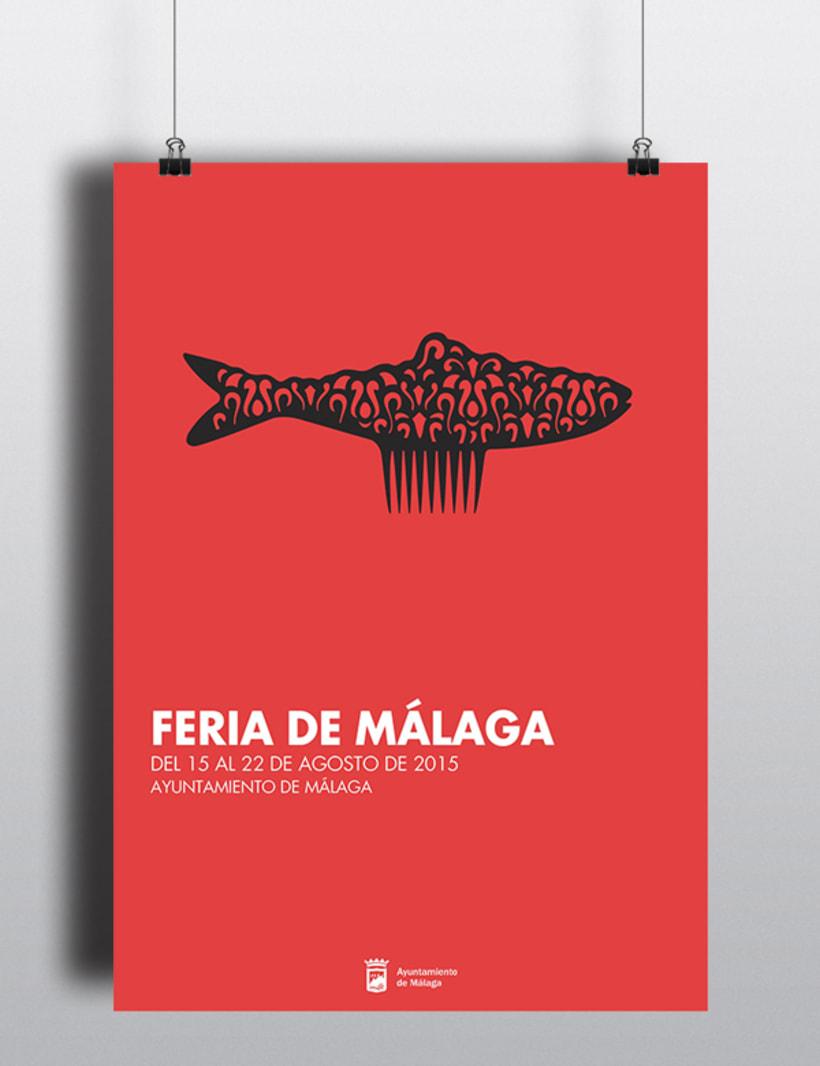 FERIA DE MÁLAGA 2015_Cartel 0