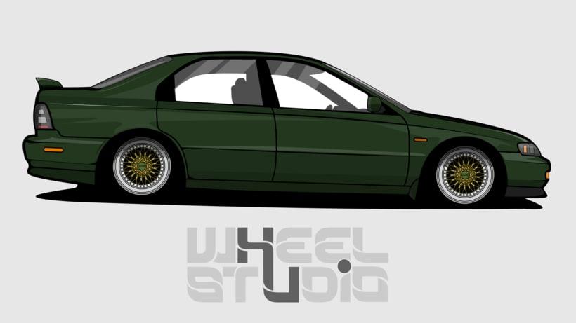 Ilustracion // Honda Accord 98  0