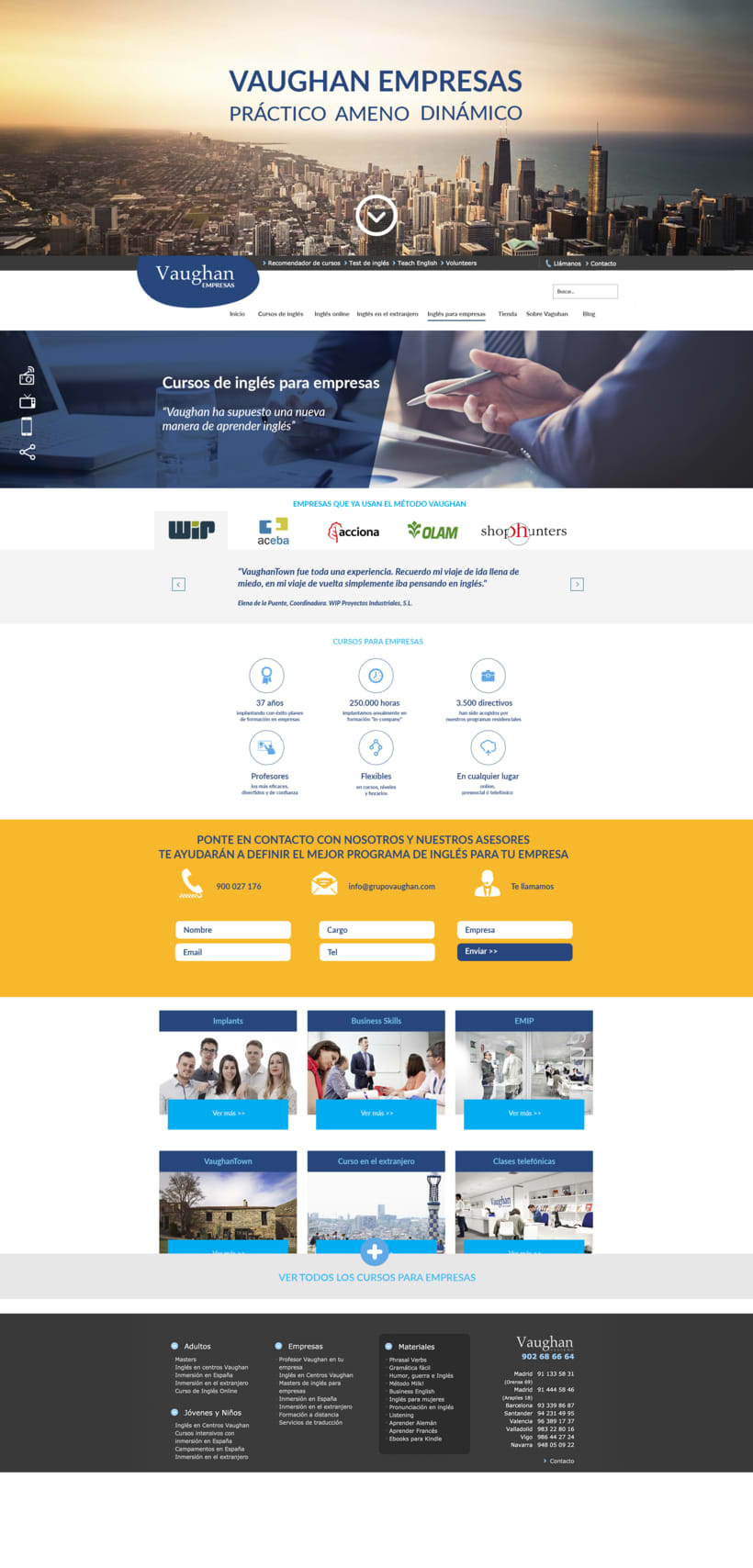 Vaughan para Empresas - propuestas de diseño -1