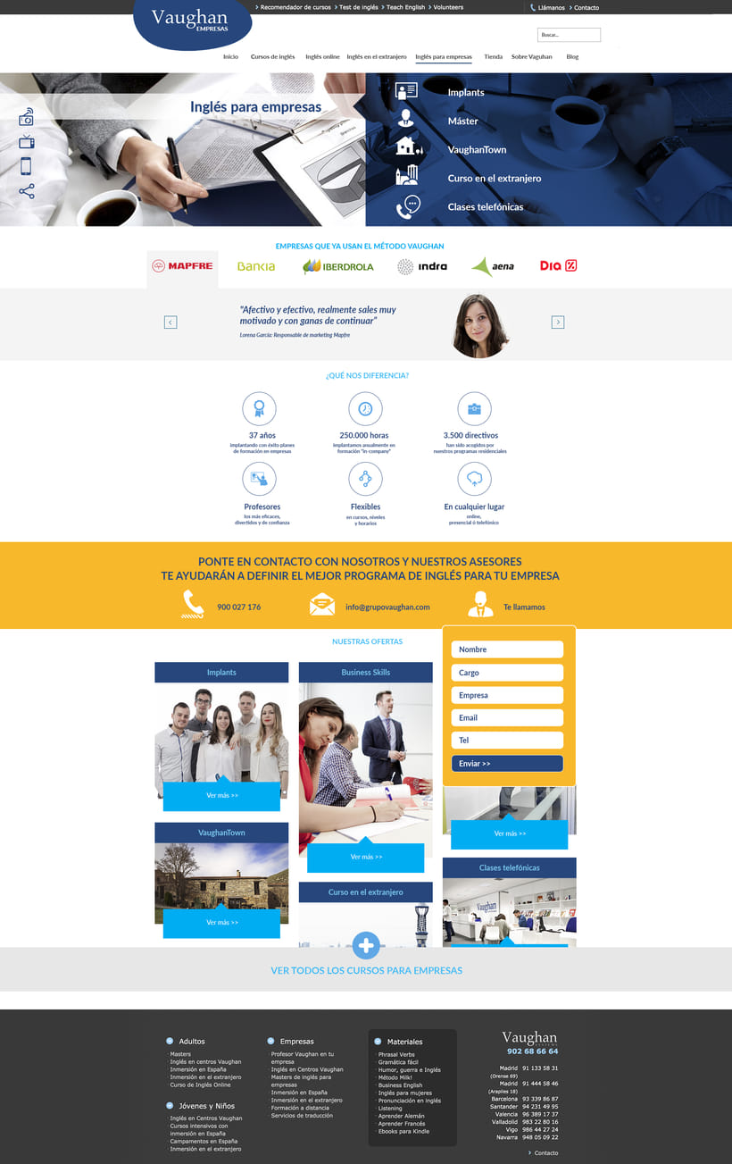 Vaughan para Empresas - propuestas de diseño 0