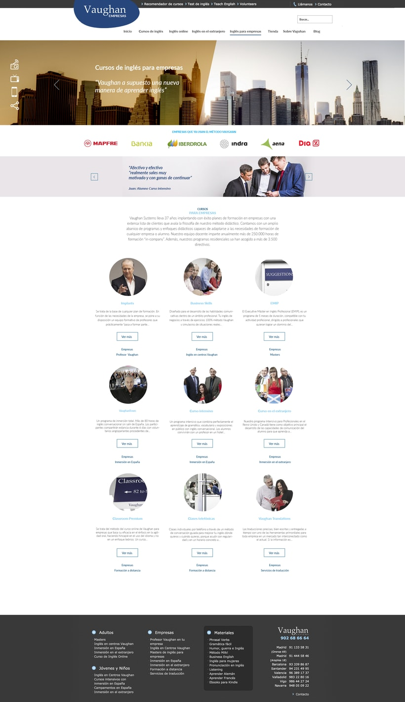 Vaughan para Empresas - propuestas de diseño 1