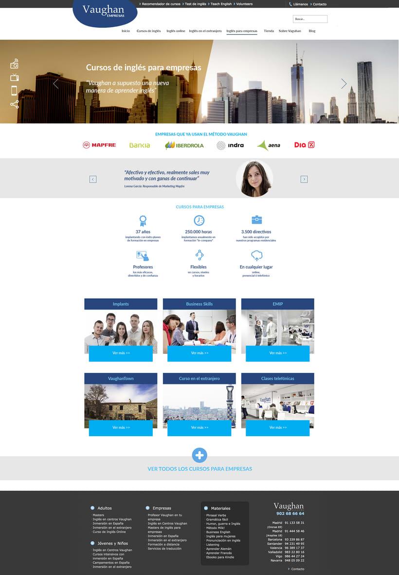 Vaughan para Empresas - propuestas de diseño 2