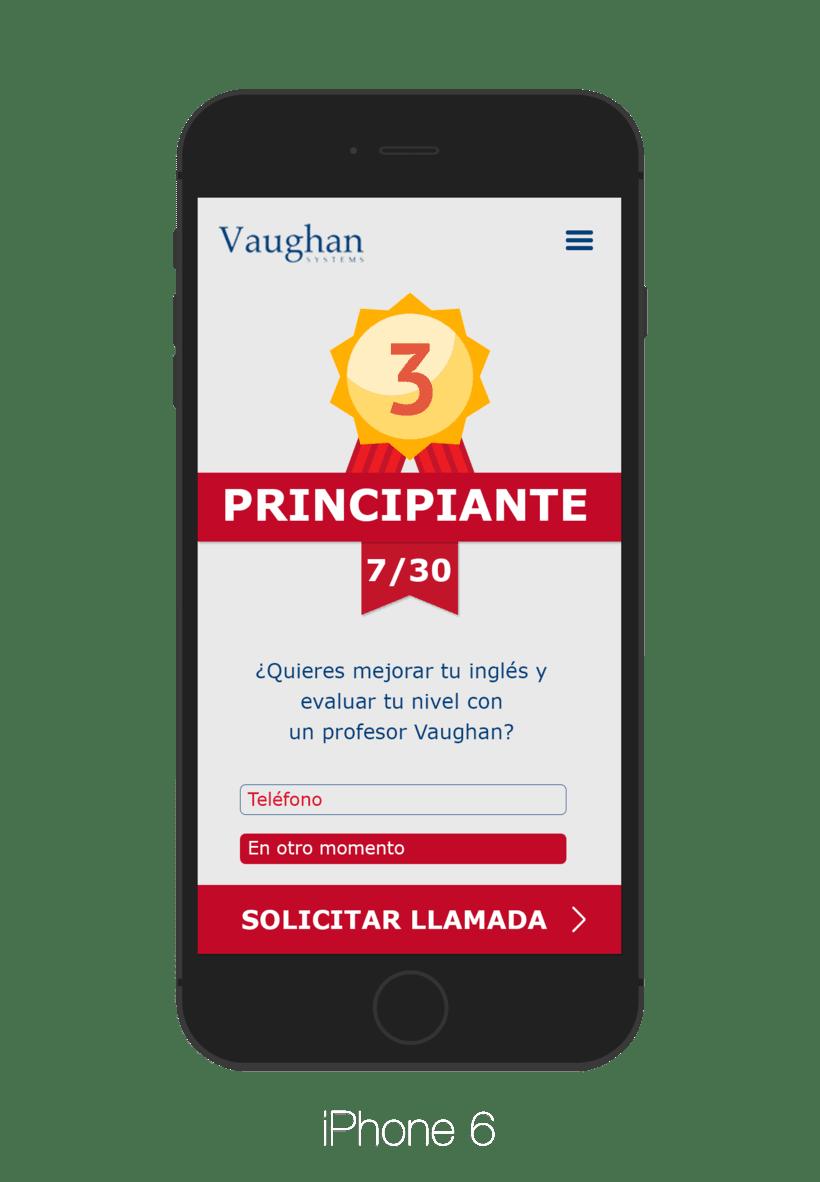 App para test de nivel - Grupo Vaughan 2