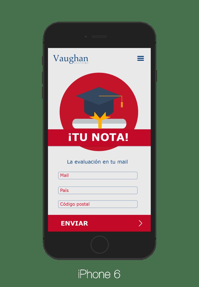 App para test de nivel - Grupo Vaughan 3