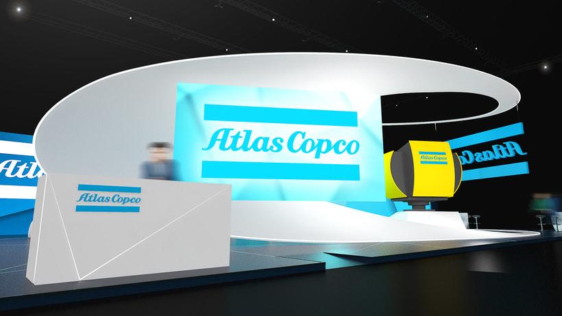 Stand Atlas Copco 5