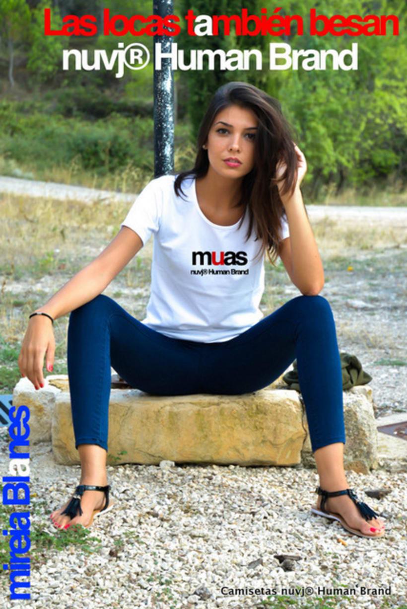 Nuevas camisetas nuvj con Mireia Blanes. 0