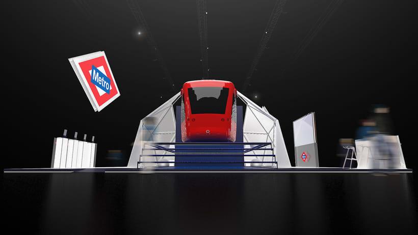 Stand Metro de Madrid 4