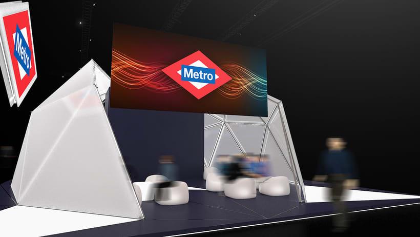 Stand Metro de Madrid 5