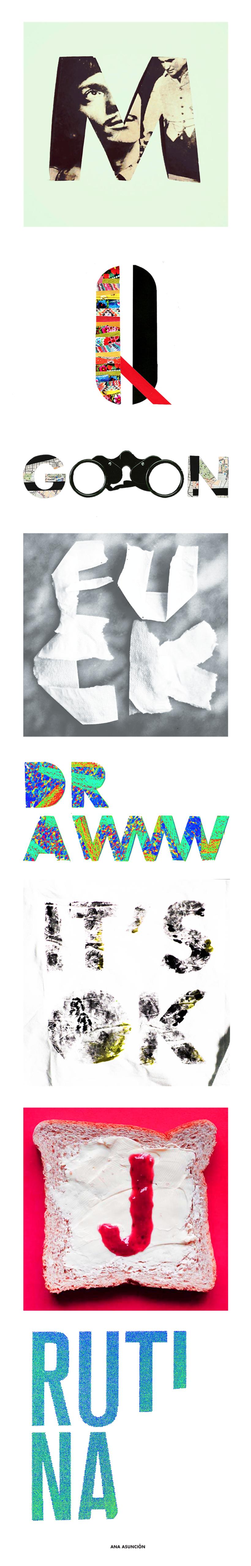 Letras dibujadas -1