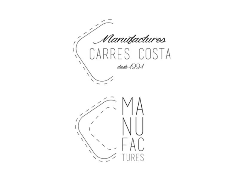 logo CARRÉS-COSTA (empresa textil) 0