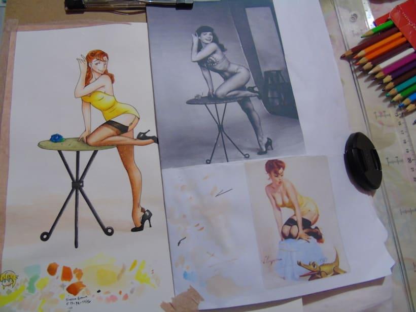 Proyecto Pin up: Helena Quintanilla 4