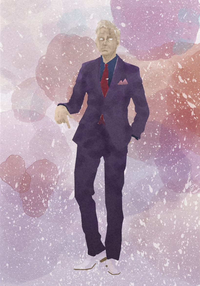David Tennant Ilustration, Proceso de trabajo. 2