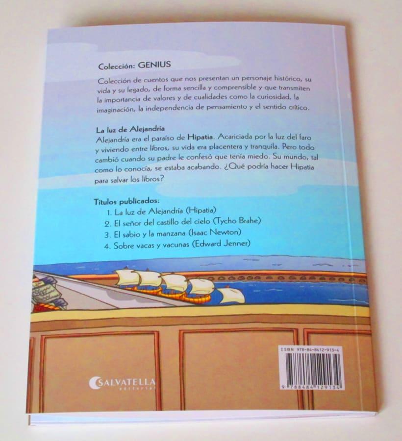 Colección GENIUS vol.1 La luz de Alejandría 7