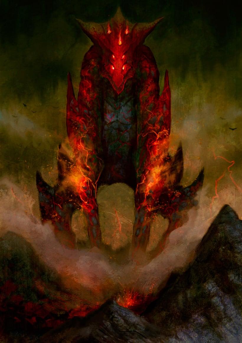 Criatura de fuego -1