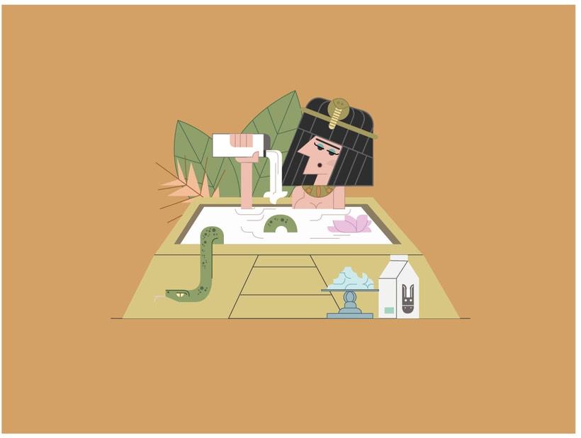 Cleopatra y proceso de trabajo 2